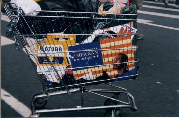 "Ubiquitous Trolley ...""American Dream"" NYC 1999"